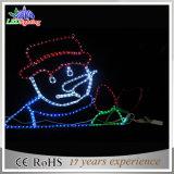 LED 제 2 주제 크리스마스 눈사람 훈장 빛
