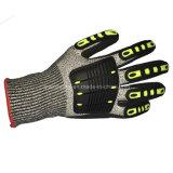 Отрежьте Resistant Gloves, с TPR Foam Nitrile