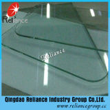 vidrio Tempered de la alta calidad de 3mm-19m m con el certificado de la ISO y del CCC