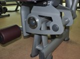 Máquina abdominal cargada Pin del ejercicio del equipo de la gimnasia del crujido