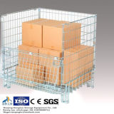 Faltendes Wire Mesh Storage Container für Warehouse Storage Using