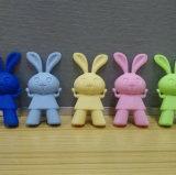 Sostenedor lindo de los palillos del silicón del conejo de Korean&Japan