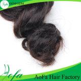 Weave fino do cabelo humano da onda do corpo do Workmanship