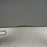 Cuero del PVC de la alta calidad para el asiento de coche (HS-PVC1607)
