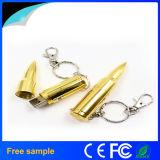 Movimentação do flash do USB da bala do metal para a promoção