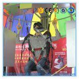 Simulateur virtuel de saut à l'élastique de Vr d'expérience de parachute excitant de réalité virtuelle