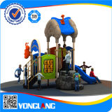 O plástico barato dos miúdos desliza o equipamento ao ar livre do campo de jogos (YL55357)