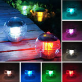 Cor Mudando Paisagem Ao Ar Livre Floating Pond Light Waterproof Solar LED Garden Light
