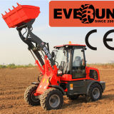 Qingdao Everun Er10 Front Loader Type Mini Multi-Function Loader mit New Style Cabin