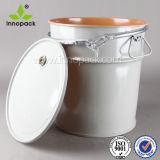 Innopack métal de tambour en acier de 5 gallons Buckets la catégorie comestible avec le traitement