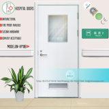 Medizinischer KrankenhausSickroom weist Tür mit Glasanblick ein (BN-HP104)