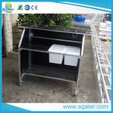 Binder Bar, Bar Counter Design, Mobile Bar Counter mit Cover