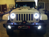 "DOT Certificated 7 "" 40W Jeep Wrangler DEL Headlight"