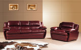 Genuine Leatherの居間Sofaのための現代Leather Sofa Set