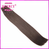 Hot Selling 2016 Fashion Factory Atacado Virgin Remy Brown Color Stragiht Cabelo Humano