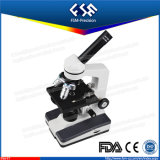 Microscopio biologico di uso del laboratorio della High School FM-F7
