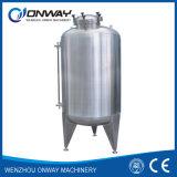 Réservoir d'eau de mémoire de raisin de cuve de conteneur d'acier inoxydable de vin d'hydrogène d'eau chaude de pétrole de prix usine
