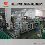 Plastic automatico Handle Bag Making Machine con Handle Hole