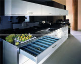 Heißer Verkaufs-hoch glatter weißer Farben-Küche-Schrank