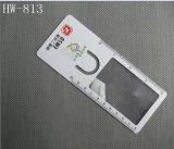 PVC 북마크 (HW-813)를 가진 휴대용 돋보기 카드