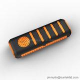 3 in 1 Stereo-installatie van Bluetooth van de Spreker van de Bank van de Macht Draagbare met Flitslicht