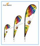 2.8m Geburtstagsfeier-Digital-Druckenteardrop-Markierungsfahne/Fliegen-Fahne