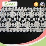 Kleid-Zubehör-indische Stickerei-Gewebe-Guipurespitze-Spitze