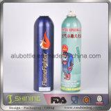 Frasco vazio de alumínio colorido do pulverizador do corpo do aerossol