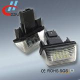 Lámpara auto de la matrícula del LED para OEM No. 6340 de Peugeot. A3