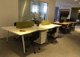 Computer-Schreibtisch MDF-Büro-Schreibtisch-Büro-Arbeitsplatz für 4 Personen