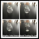 450ml despejan el tarro de cristal del almacenaje con la tapa de cristal