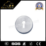 シリンダー主穴が付いているドアのアクセサリのステンレス鋼の紋章