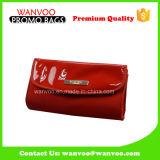 Sacchetto cosmetico Costomize del sacchetto della cancelleria dell'unità di elaborazione di 2016 colori rossi per il disegno Cina dell'OEM delle signore