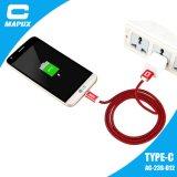 힘 은행, 이동 전화를 위한 다기능 고압선 USB C 케이블