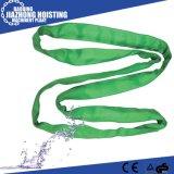 Doppeltes Falte-Polyester-flacher Material-Riemen mit aller Abmessung