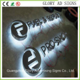 Facelit 상점 Front LED Resin Channel Letters 3D Advertizing Letter