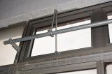 Qualitäts-Puder-überzogene graue Farben-Aluminiumprofil-Markisen-Fenster mit reizbarem Griff Kz307
