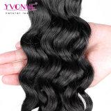 Grado superior peruana del pelo humano onda floja extensión del pelo Ombre