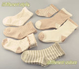 BabyのためのNaturl Organic Cotton Socks