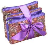 3 in 1 Cute Zoll-bildeten Women Fashion Coin Purse Wallet Bag Sets