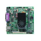 Motherboard 2 des Atom-N455 MiniItx eingebettete industrielle COM-Gleichstrom-Versorgung