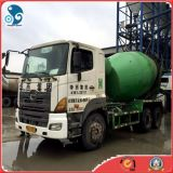 9m3-Drum/6cylinders-Engineの使用されたHino Concrete Cement Mixer Truck