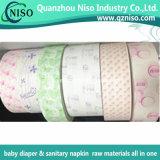 Documento della versione del silicone per le materie prime del tovagliolo sanitario (LS-Q12)
