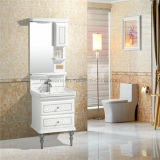 BasinおよびSilver MirrorのPVC Bathroom Cabinet