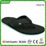 Сандалии людей Китая горячего сбывания оптовые кожаный (RW29109-1)