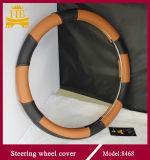 Цветастая украшенная крышка рулевого колеса автомобиля