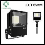 projecteur extérieur imperméable à l'eau de la garantie DEL de 50W DEL avec la puce de Philips DEL