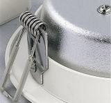 El calor caliente de la venta disipa el blanco mudo LED abajo que se enciende