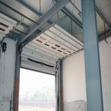 China-industrielle Isolierobenliegende anhebende geschnittentür (HF-003)