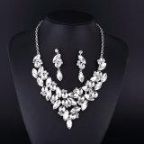 Collar de plata cristalino claro clásico del laminado del nuevo estilo
